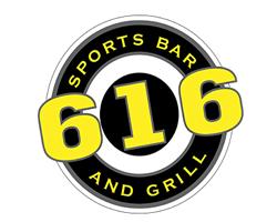 616 Sports Bar & Grill LOGO