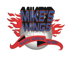 Mike's Wings Waffle Burgers LOGO