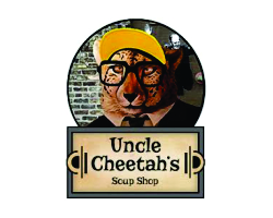 Uncle Cheetah's Soup Shop Logo