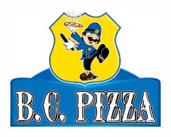 B. C. Pizza Logo