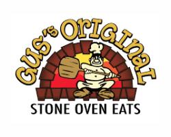 Gus Original Stone Oven Eats logo