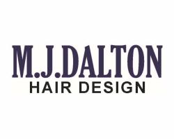 M. J. Dalton Hair Design logo