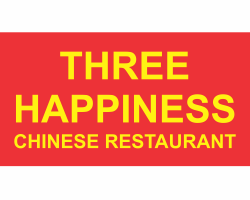 Three Happiness logo